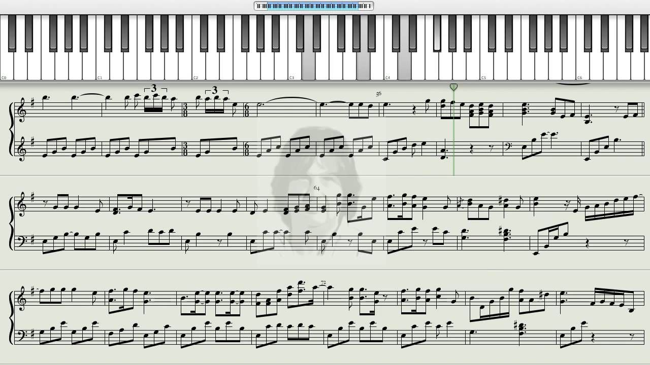 How To Play Nothing Else Matters Metallica On The Piano Met