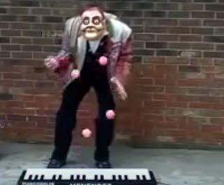 Genialer Strassenmusiker