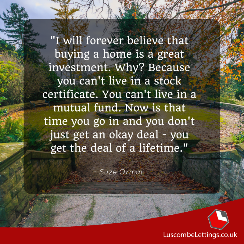 """""""I Will Forever Believe That Buying A Home Is A Great"""