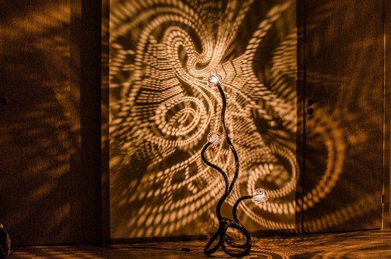 nymphen stehleuchte no 2 k rbis lampe von nymphsworkshop auf etsy zuk nftiges 4 zimmer. Black Bedroom Furniture Sets. Home Design Ideas