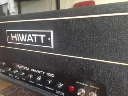 Hiwatt Custom 100 DR103 (1979) in München Ramersdorf