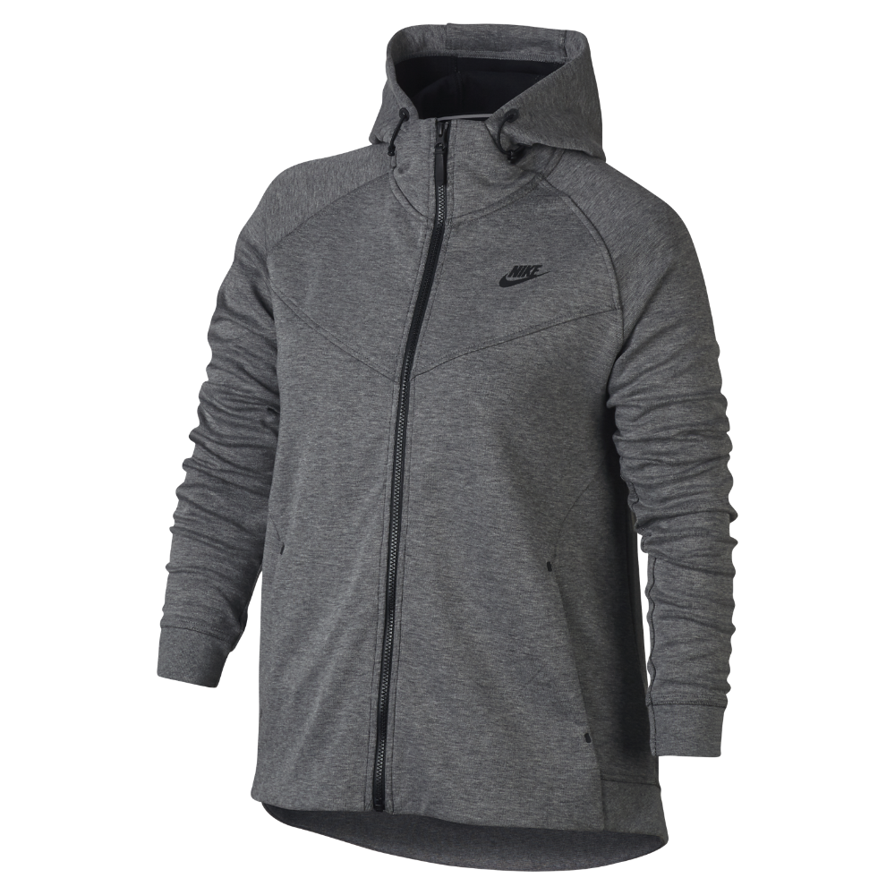 wholesale dealer b869e f7ad8 Nike Sportswear Tech Fleece (Plus Size) Women s Full-Zip Hoodie Size