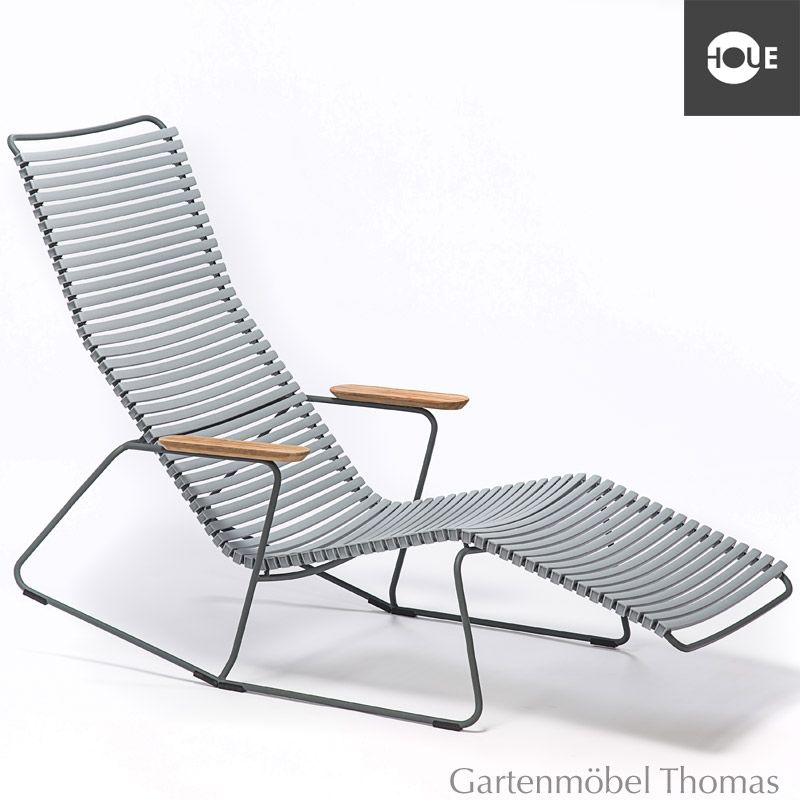 Houe Relaxliege Click Metall Graphit Farbe Grau Click Sunrocker Relaxliege Farbe Grau Grau