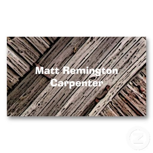 Carpenter business card business cards card templates and business carpenter business card wajeb Image collections