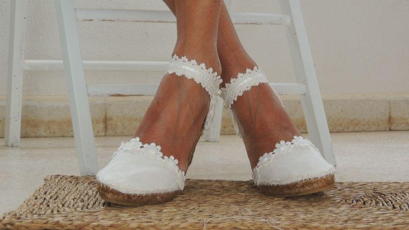 alpargatas novia-ibicencas ibicencas bridal espadrilles handmade