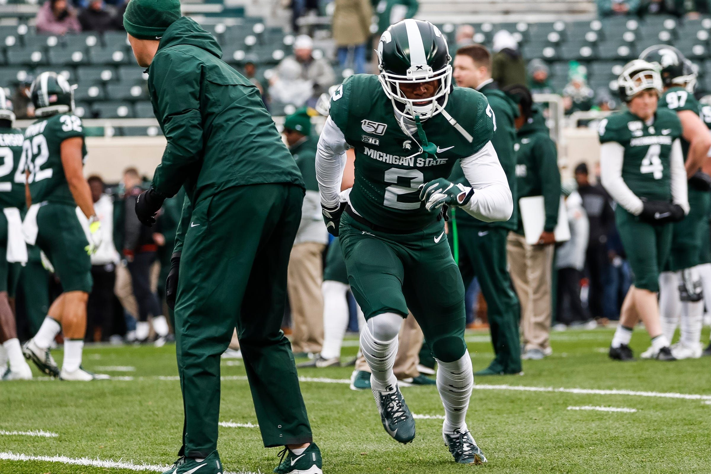 Here S What Julian Barnett Brings To Michigan State Football S Secondary In 2020 Michigan State Football Michigan State Michigan Sports