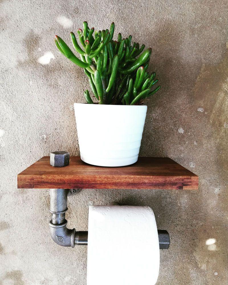 Design Toilette Wc Klopapier Papier Halter Roller Rohr Vintage Loftambiente Ch In 2020 Wc Papierhalter Wc Dekoration Papierhalter