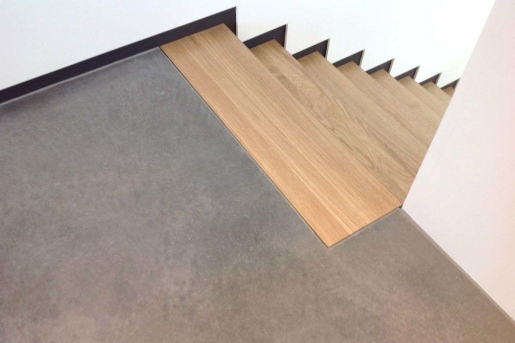 Design Estrich Geschliffen Stair Stairs Flooring Interior Design