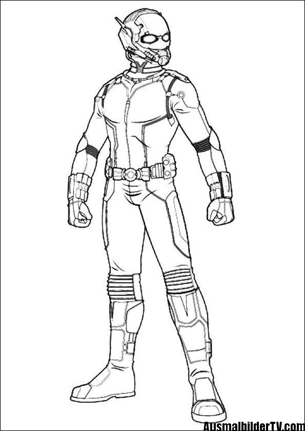 Ausmalbilder Von Ant Man Avengers Coloring Pages Superhero Coloring Avengers Coloring