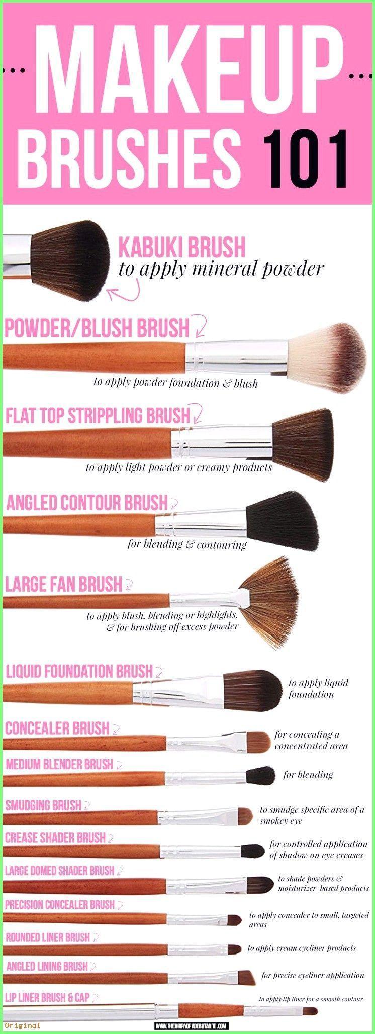Photo of Make Up – Diese Make-up Pinsel Anleitung zeigt 15 der besten Vanity Planet Make-…