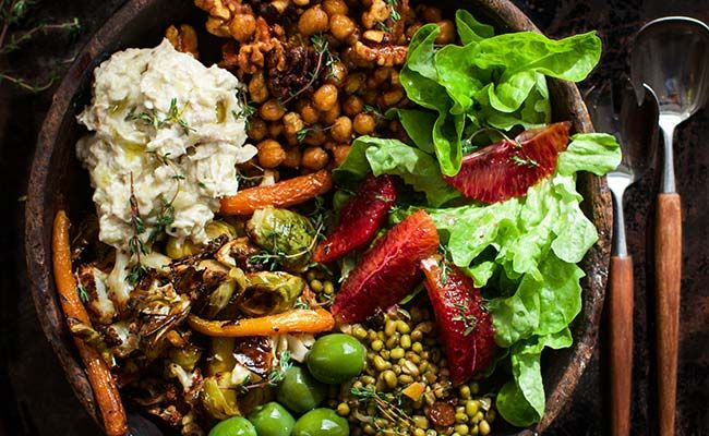 The Most Insanely Delicious Veggie Bowl You'll Ever Assemble  http://www.eatclean.com/recipes-how-to/veggie-bowl-recipe
