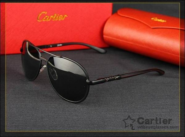 sunglasses shop sale  Black series cartier santos / aviator sunglasses ...