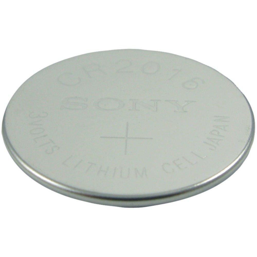LENMAR WCCR2016 3-Volt Lithium Coin Battery (CR2016; 85mAh)