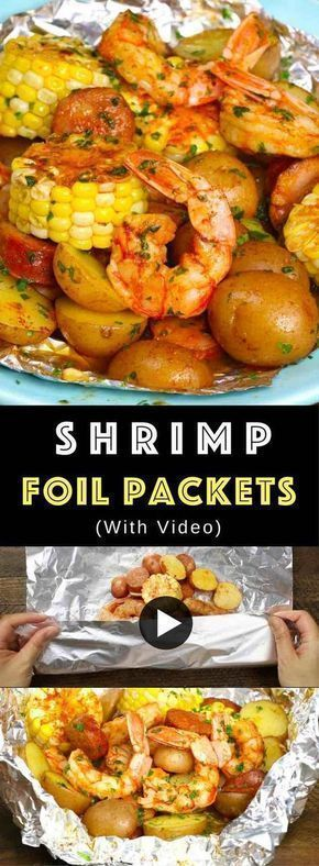 Photo of The Best Shrimp Boil with corn, potatoes and sausage – just prepare on the grill …