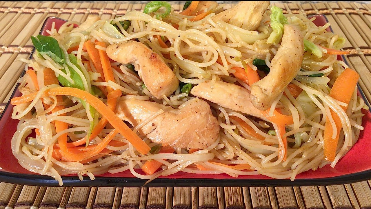 Pretty nice how to make chicken mei fun rice noodles chinese food pretty nice how to make chicken mei fun rice noodles chinese food recipes singapore style forumfinder Choice Image