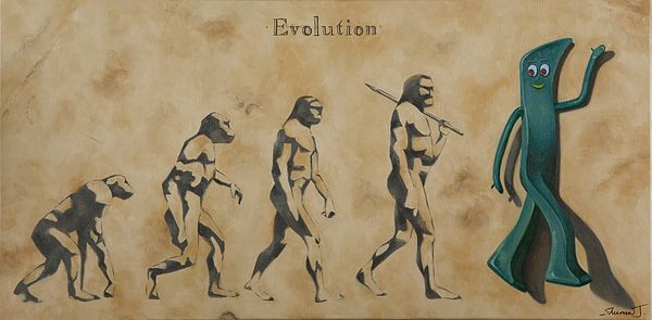 Evolution by Judy Sherman