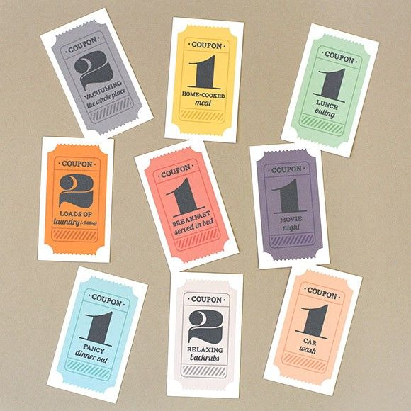 Free Printable Car Wash Tickets P Looking For A Last Minute Birthday Gift Want To Surprise Your