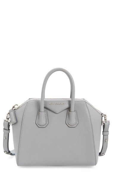 a036351c2e172 Givenchy Antigona Mini in Grey! The perfect size!!!! A must for easy travel  and on-the-go