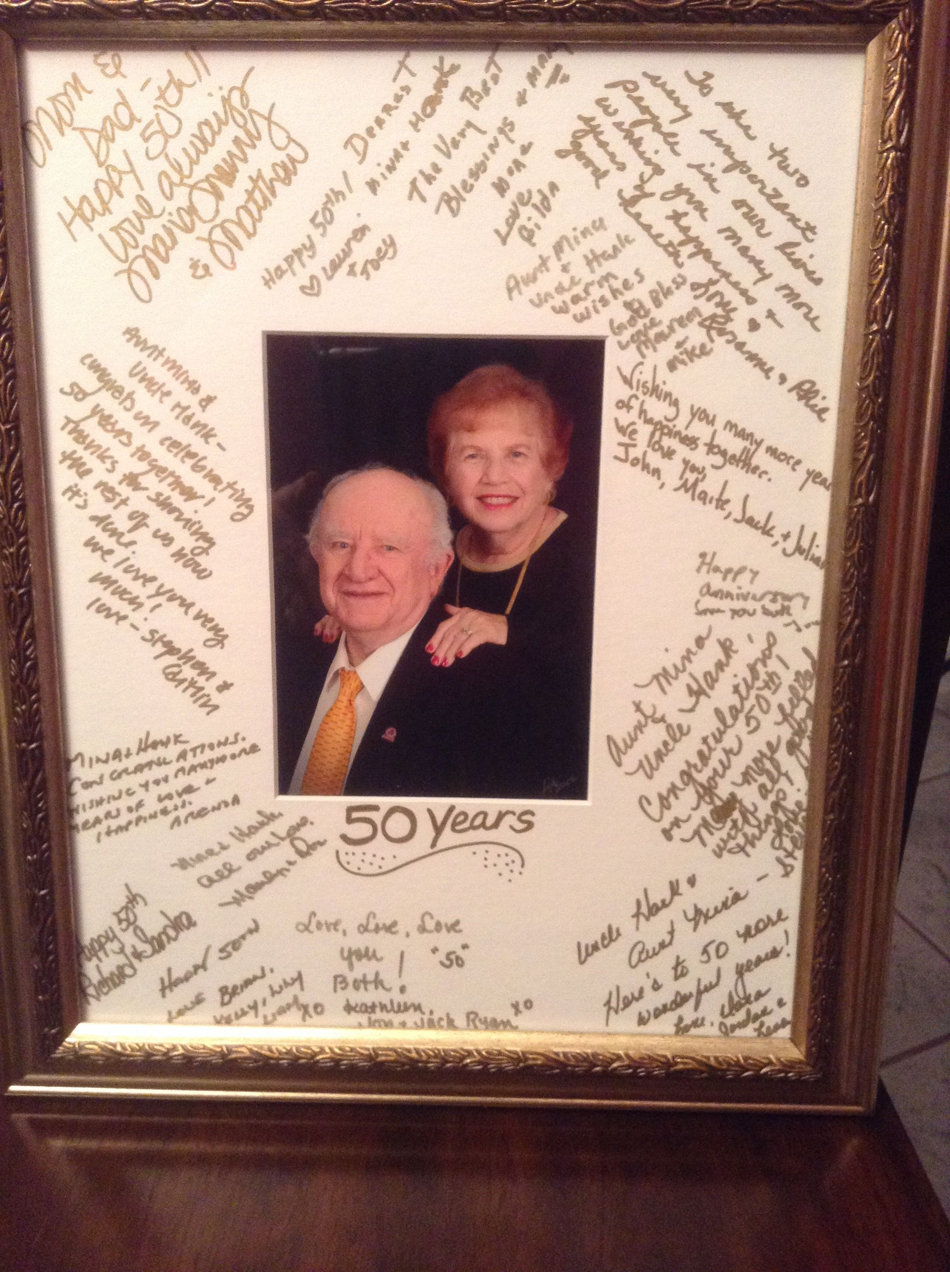 Anniversary Party Frame