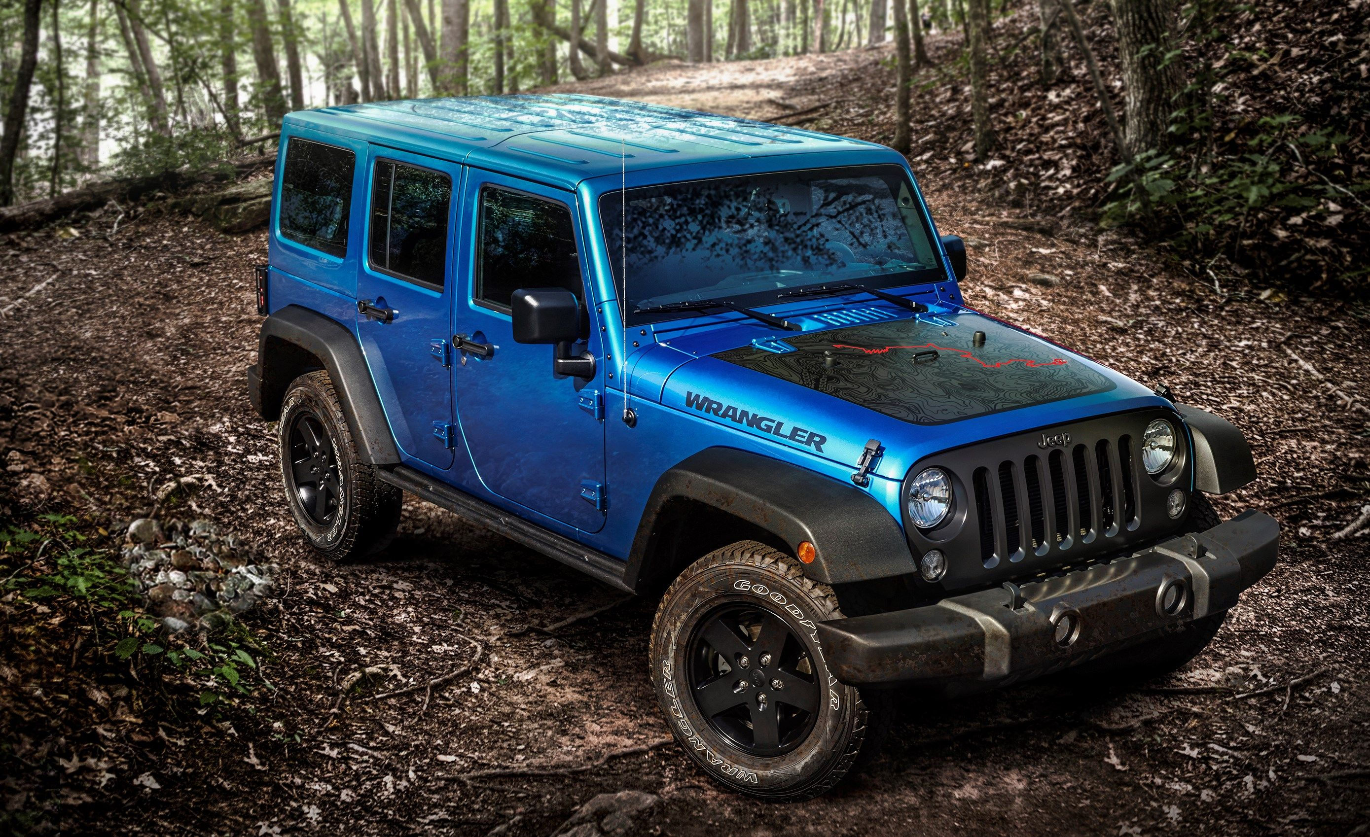 2016 jeep wrangler black bear edition High Definition Wallpapers