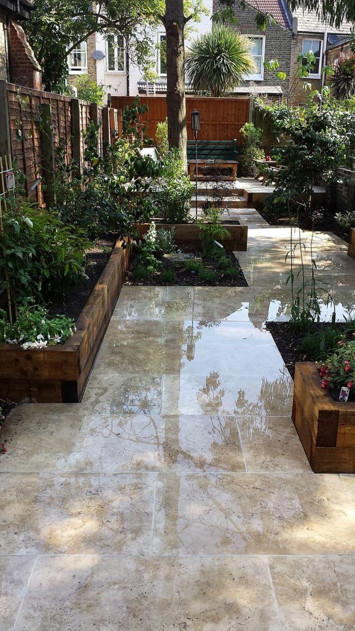 111 Gartenwege Gestalten Beispiele   7 Tolle Materialien Für Den Boden Im  Garten! | Patios And Gardens