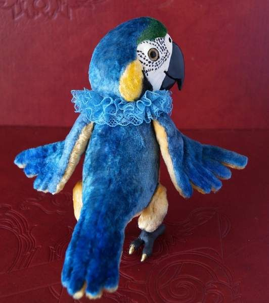 Plush Wire Free Parrot Bird Wings