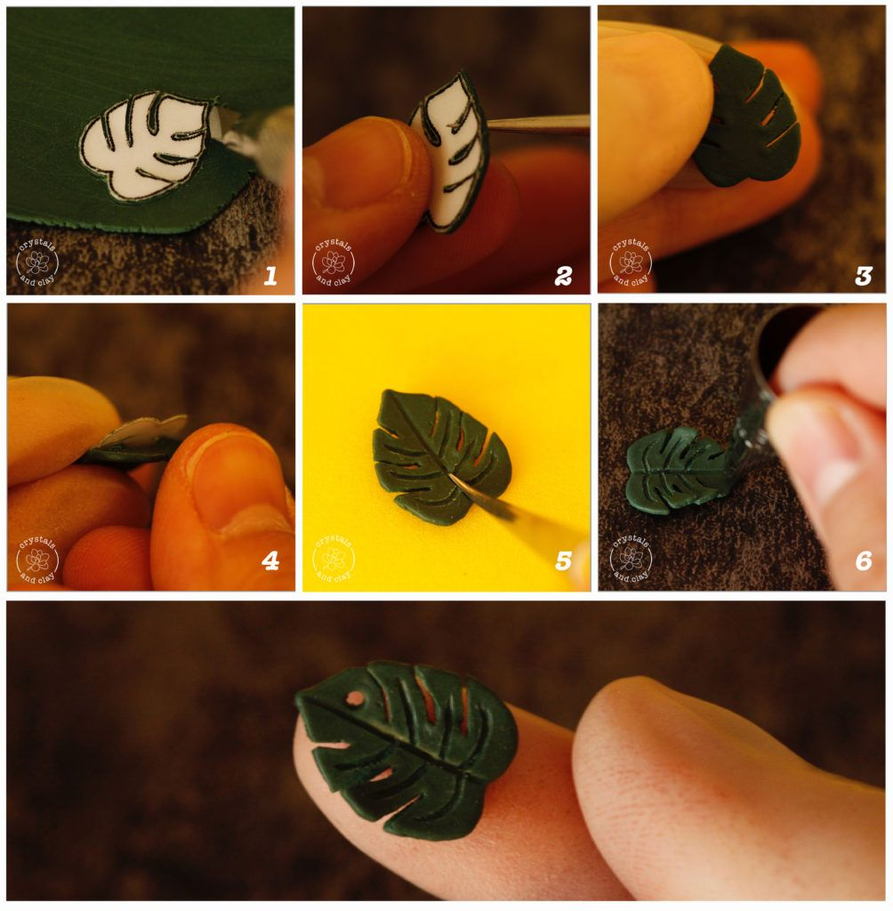 Gorgeous Ways To Incorporate Scandinavian Designs Into: How To Make Polymer Clay Tropical Flower Earings