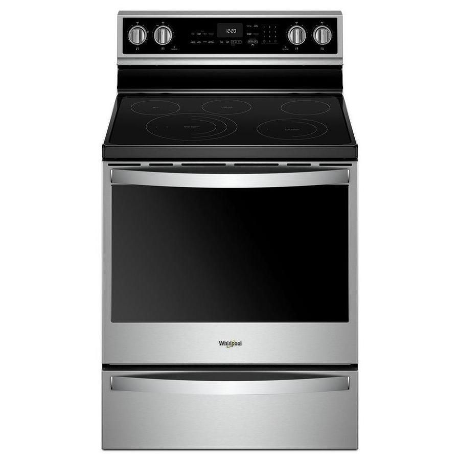 Whirlpool Smart Smooth Surface 5 Elements 6 4 Cu Ft Self Cleaning