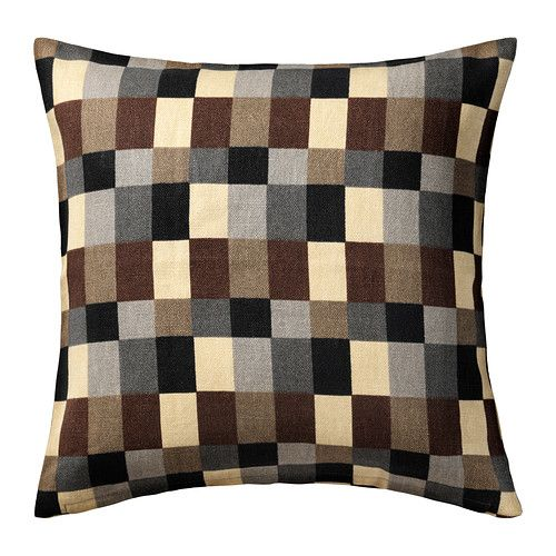 STOCKHOLM Cushion cover IKEA Cover is made of ramie a hard