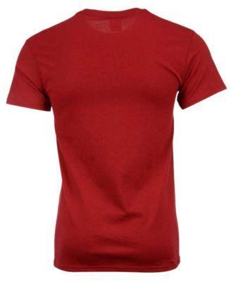 J America Men's Washington State Cougars Football Stack T-Shirt - Red XXL