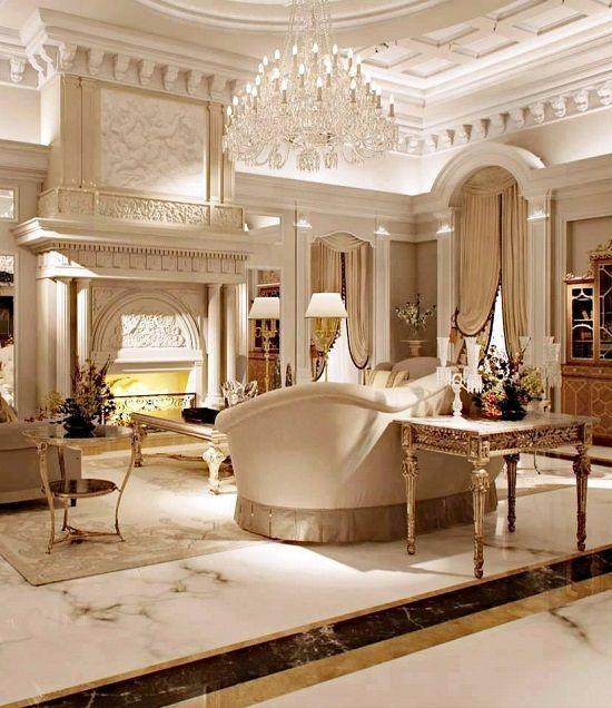 37 Fascinating Luxury Living Rooms Designs  Interiors  Pinterest Unique Luxury Living Rooms Designs Inspiration Design