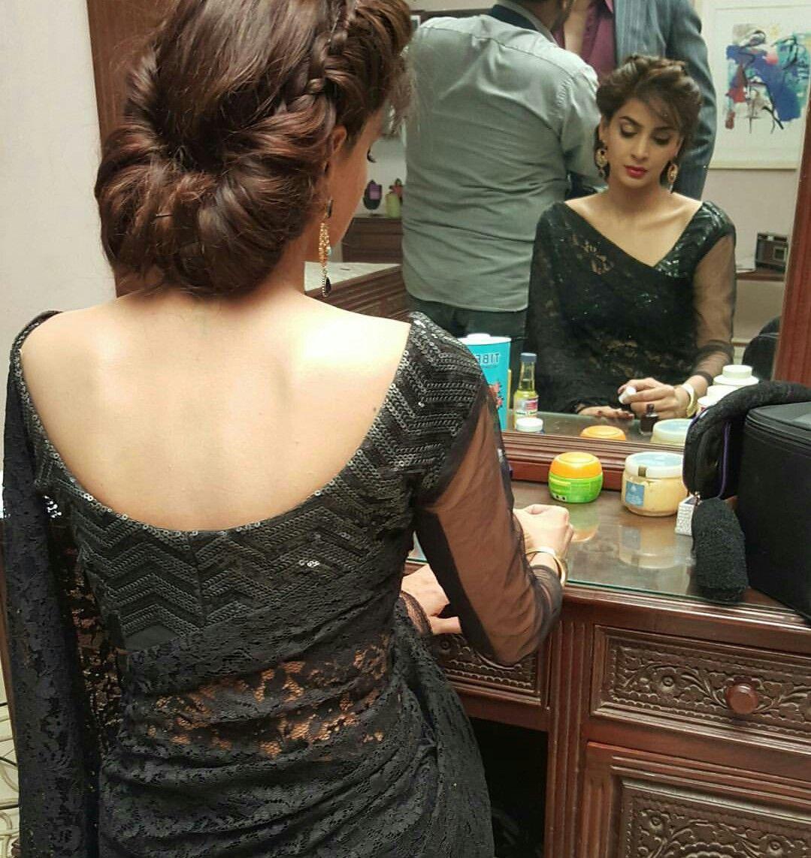Pakistani Actress Hairstyles: Saba Qamar. Pakistani Actress