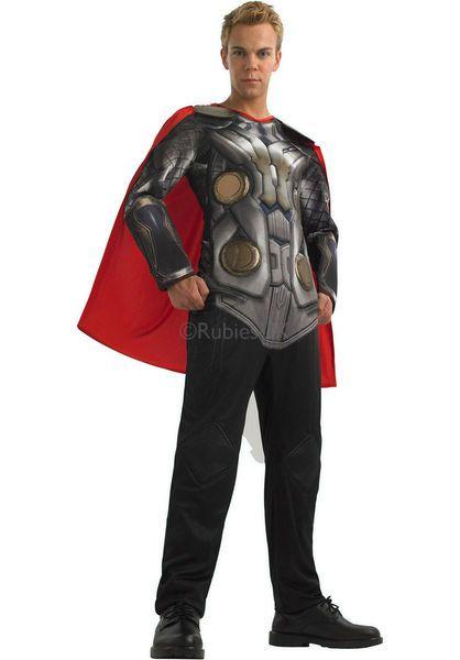 Naamiaisasu; Thor  Lisensoitu Marvelin Thor naamiaisasu standardikokoisena. Thor on Marvel-kustantamon versio muinaisesta ukkosenjumalasta, jonka loivat kustantamon kantavat voimat, Stan Lee ja Jack Kirby vuonna 1962 amerikkalaiseen Journey into Mystery-lehden numeroon 83. Panoksensa Thorin luomiseen antoi myös Larry Lieber. #naamiaismaailma