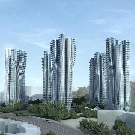 Residential Towers On Farrer Road In Singapore By Zaha