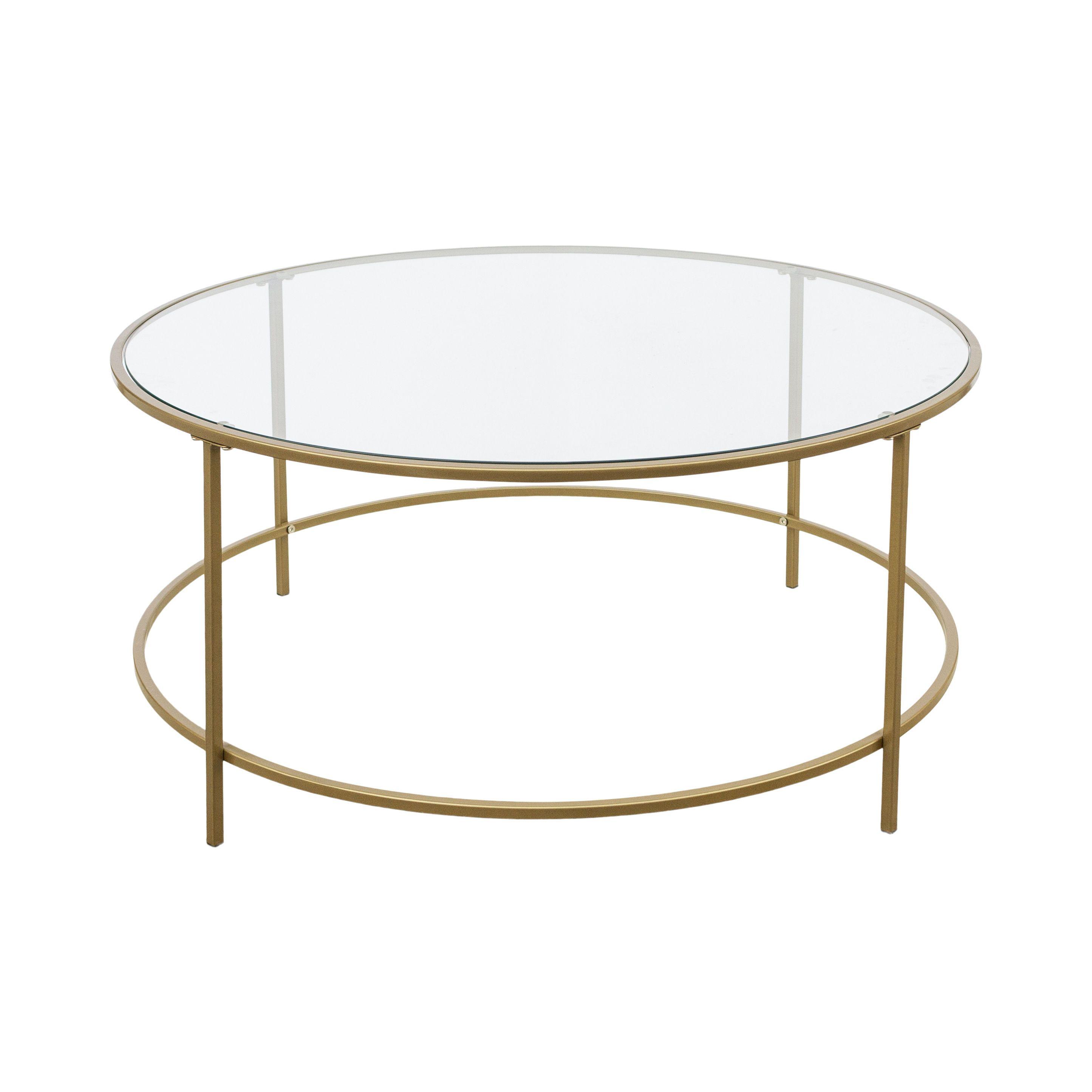 Chuma Coffee Table Birch Brass Round Glass Coffee Table Coffee Table Metal Frame Metal Coffee Table [ 2890 x 2890 Pixel ]