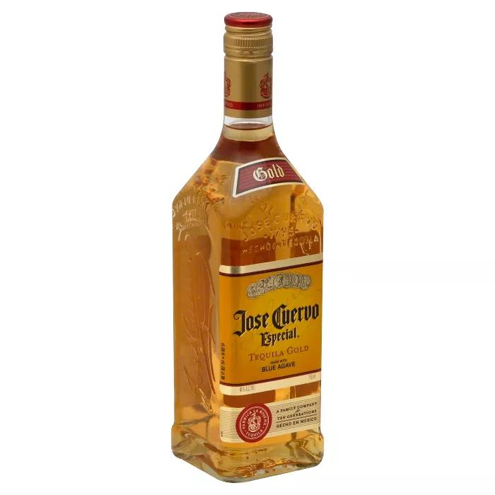 Jose Cuervo Especial Gold Tequila 750ml Bottle Jose Cuervo Jose Cuervo Tequila Brands Of Tequila