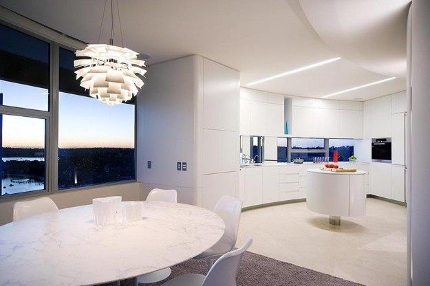 Il total white per la cucina | LoVe | Pinterest | Arredamento and ...