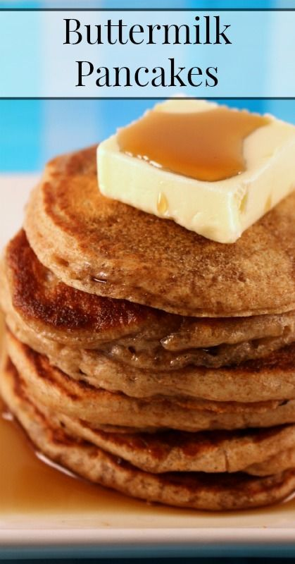 Healthy Buttermilk Pancakes Recipe Recipe Real Food Recipes Buttermilk Pancakes Food