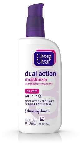 Clean Clear Essentials Dual Action Facial Moisturizer 4 Fl Oz In 2020 Clear Skin Care Moisturizer For Dry Skin Foaming Facial Cleanser