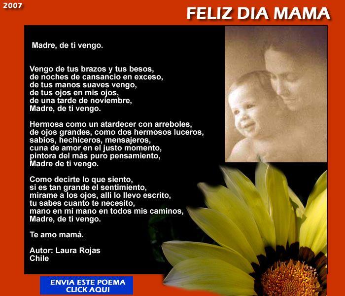 poemas para mama en el dia de las madres | ... estas tarjetas con