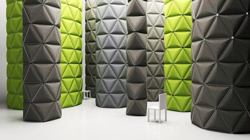 modular space frame structures by formkind - designboom - innovative raumteiler system