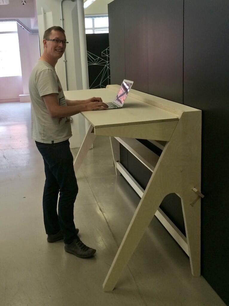 Open Making Standing Desk Design Cnc Furniture Desk Design