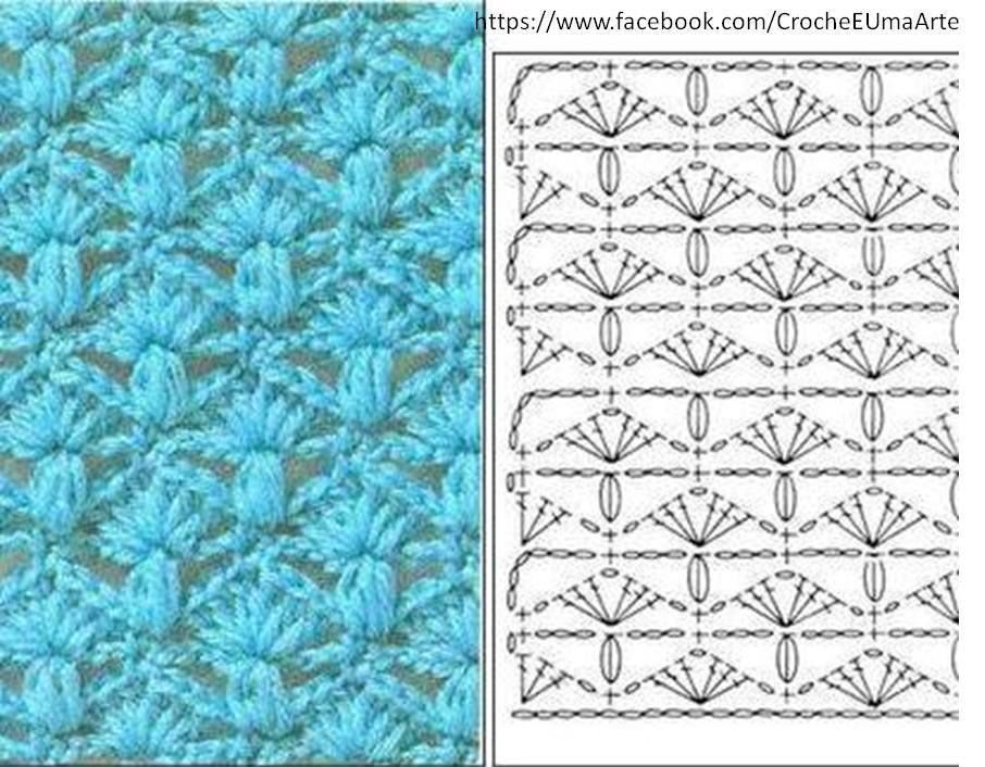Pin von Marijke de Lang - Hellendoorn auf Crochet stitches ...