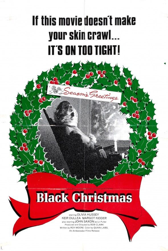Black Christmas (1974) Christmas horror movies, Black