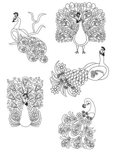 Mylar Paisley Peacock Embroidery CD | Needlework | Pinterest | Pavos ...