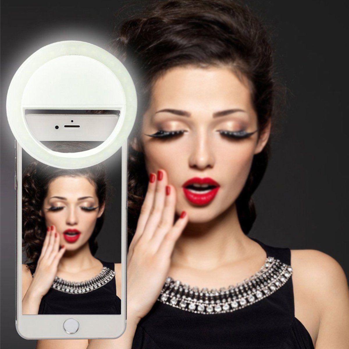 2.89 Portable Selfie Led Ring Flash Light Camera