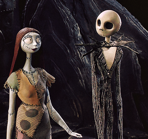 Trillista Goth Sally & Jack from The Nightmare Before ...