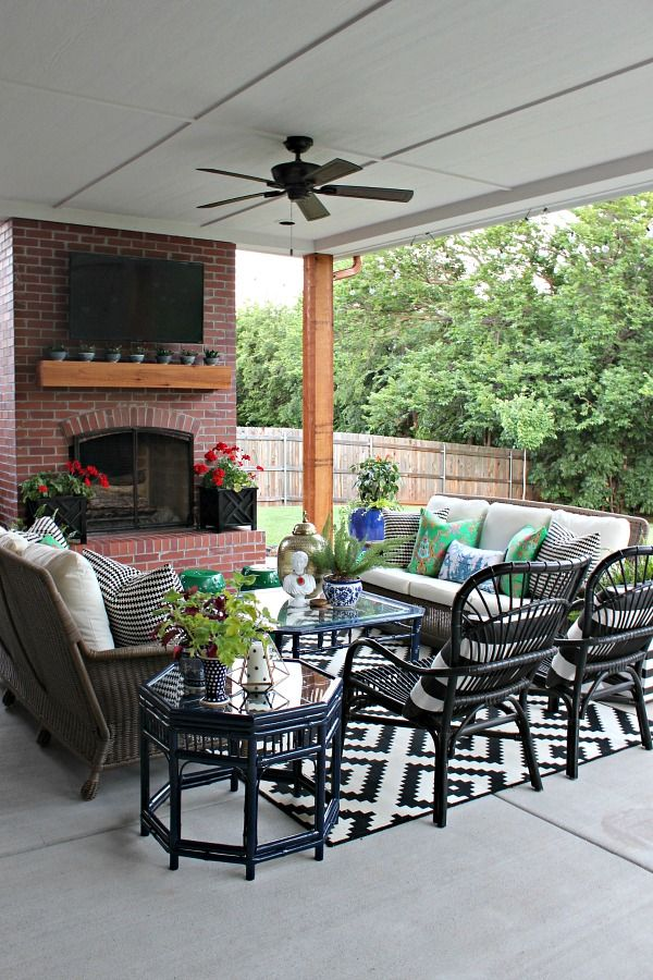 dimples and tangles 20 best patio spaces via a blissful nest