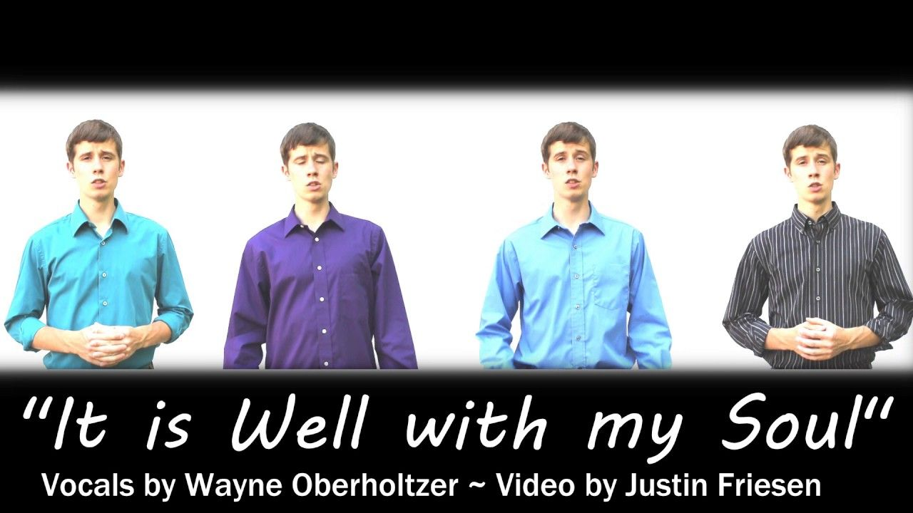 It Is Well With My Soul - Acappella Multitrack | Christian