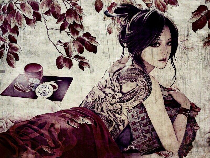 Yakuza Girl Yakuza Girl Yakuza Tattoo Princess Art